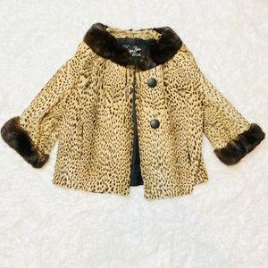 Authentic Furs By Spritzer Bro's Leopard Coat